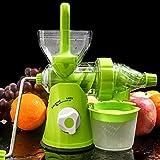 Mini Presse Juicer Handgefertigte Früchte Gemüse Orange Wassermelone Karottensaft Hand Kurbel...
