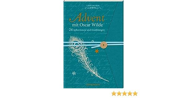 Briefbuch – Advent mit Oscar Wilde: 24 Aphorismen und Erzählungen ...