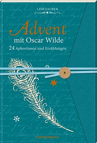 Briefbuch – Advent mit Oscar Wilde: 24 Aphorismen und Erzählungen