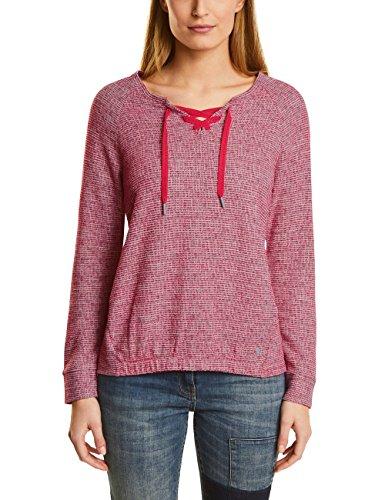 Cecil, Sweat-Shirt Femme Rot (Salsa Red 31198)