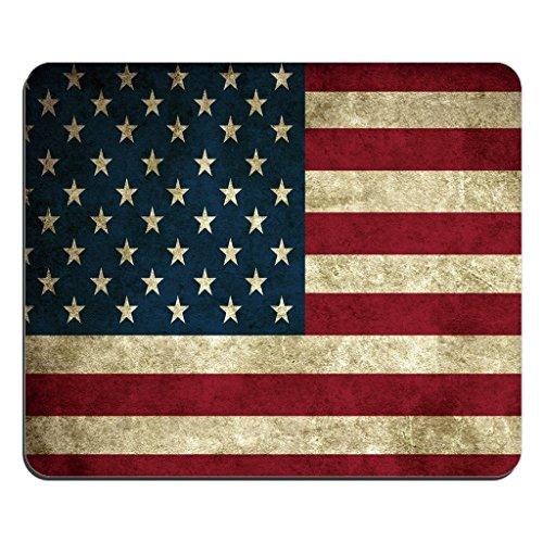 Mein Ji Amerikanische Flagge Druck Mauspad Mousepad USA Amerika Druck Individuelle Fahne Rechteck Mousepad Farbe der Flagge Mousepads