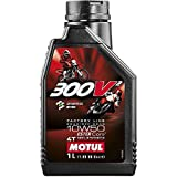 #5: Motul 300v² Ester Core Organic Base 10W-50 Fully Synthetic Engine Oil for Racing Bikes (1L)