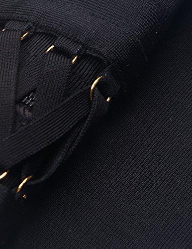 meilun - Robe - Femme Noir