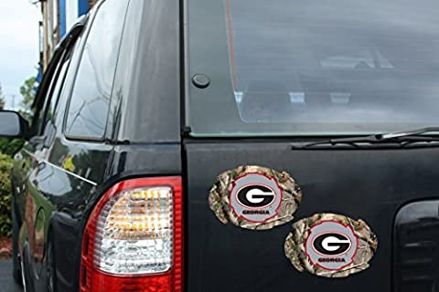 GEORGIA BULLDOGS REALTREE CAMO MAGNET-CAR MAGNETS by R and R Imports