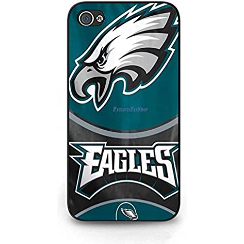 Blue Hard Plastic Coolest Eagles Phone Case Cover For Iphone 4/4S - Specialized Hard Rock
