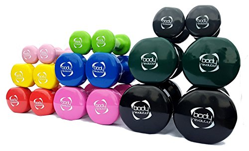 Body-Revolution-Pair-of-Vinyl-Dumbbells-for-Home-Gym-Crossfit-Pilate-Body-Toning-and-fitness-05-5kg-2-x-15kg