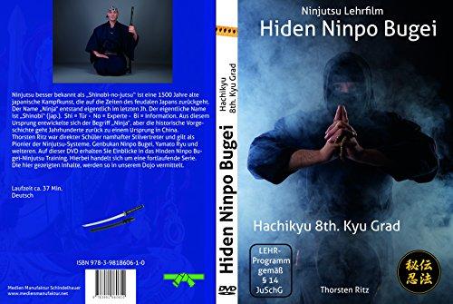 Preisvergleich Produktbild Ninjutsu Lern-DVD Hiden Ninpo Bugei 8th Kyu: Ninjutsu Lehrfilm