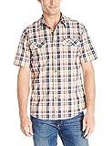 Royal Robbins Men's Summertime Plaid Short Sleeve Shirt, Deep Blue, XX-Large by Royal Robbins