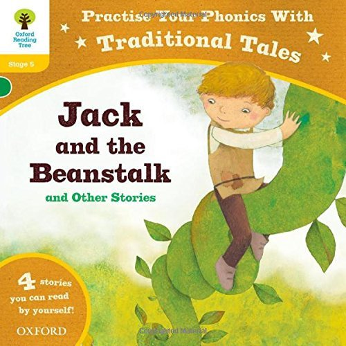 Oxford Reading Tree: Level 5: Traditional Tales Phonics Jack and the Beanstalk and Other Stories (Oxford Reading Tree Trad/Tales) by Chris Powling (2014-03-06)