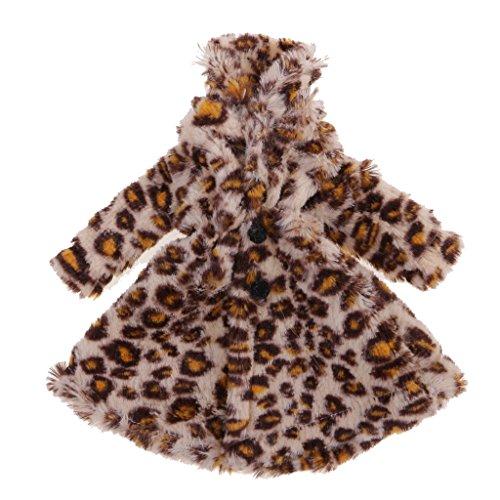 Outfits Barbie Kinder Für (Gazechimp 1/6 Mode Puppe Kleidung Kleid Hosen Anzug Mantel Outfit für 12 Zoll Barbie Puppen Kinder Spielzeug - Leopard Plüsch Mantel, wie)