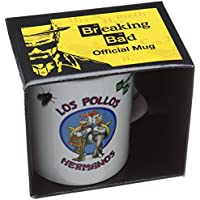 "Pyramid International ""Breaking Bad (Los Pollos Hermanos)"" Official Boxed Ceramic Coffee/Tea Mug, Multi-Colour, 11 oz/315 ml"