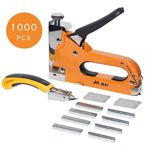 AECCN Grapadora Manual Tapizar Cables 3 1 1000 Piezas