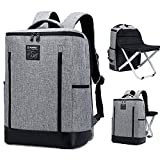 BenchMart Multi-functional Travel Chair Fishing Chair 20-35L Portable Folding Stool Backpack Travel Climbing