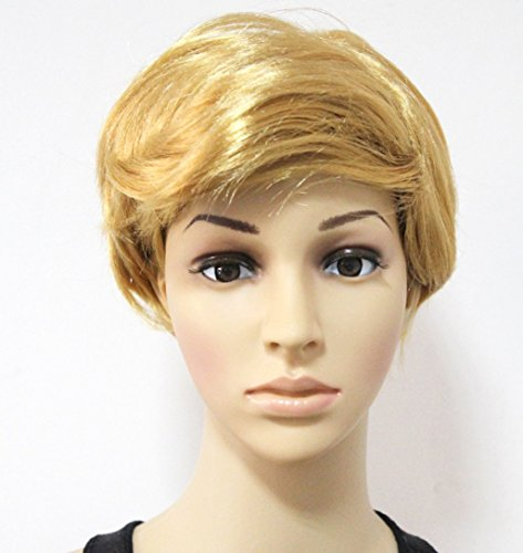 Donald Trump Fancy Dress Wig Blonde President United States
