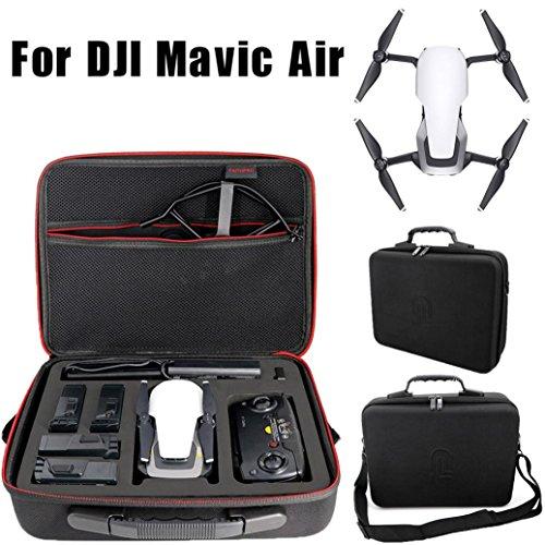 HKFV Wasserdichte tragbare Umhängetasche Handheld Aufbewahrungstasche Schützen für DJI Mavic Air Dajiang DJI MAVIC Air Umhängetasche tragbaren Aufbewahrungsbox Messenger Bag Rucksack