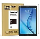 Samsung Galaxy Tab E / Tab E Nook 9.6'' (SM-T560) Protector de Pantalla Cristal, iVoler® Film Protector de Pantalla de Vidrio Templado Tempered Glass Screen Protector para Samsung Galaxy Tab E / Tab E Nook 9.6'' (SM-T560) - Dureza de Grado 9H, Espesor 0,30 mm, 2.5D Round Edge-[Ultra-trasparente] [Anti-golpe] [Ajuste Perfecto] [No hay Burbujas]- Garantía Incondicional de 18 Meses