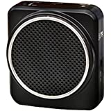 Dopobo Voix Amplificateur Portable de ceinture 12watts noir pour les enseignants, entraîneurs, guides touristiques, des présentations, Costumes, Etc