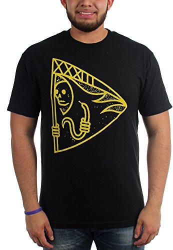 Cancer Bats-Reaper-Maglietta da uomo nero Large