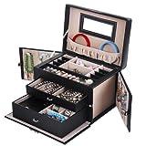 Songmics-Caja-Joyero-Joyas-Aretes-Dijes-anillo-de-la-pulsera-joyera-caja-de-almacenamiento-de-regalo-JBC121B