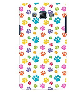 Citydreamz Colorful Animal Paws/Footprints Hard Polycarbonate Designer Back Case Cover For Samsung Galaxy Grand 2 G7102