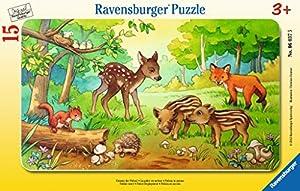 Ravensburger 063765 15pieza(s) rompecabeza - Rompecabezas (Tradicional, Fauna, 3 año(s), Niño/niña, 250 mm, 145 mm)