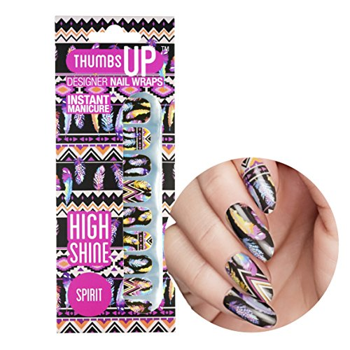 ThumbsUp Nails - Spirit Feder Nagelfolien 20 Folien / Packung