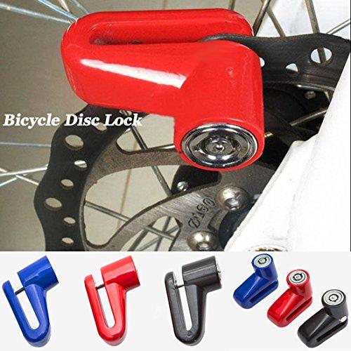 Mountain Bike Fahrrad Sicherheit Diebstahlschutz Lock Bremsscheibe Lock für Motorrad Radfahren Ausrüstung (1Set)