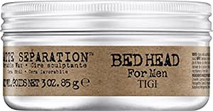 Tigi Bed Head Men Matte Separation Workable Wax, 1er Pack, (1 x 85 g)