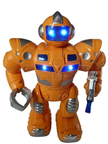 A179 Roboter bewegt selbstständig Arme und Beine, läuft vorwärts. Mit tollen Licht und Sound-Effekten!