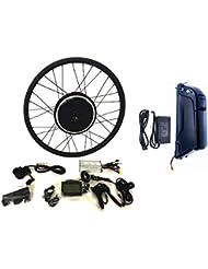 36V500W Hub Motor 11AH Li-on Batterie vélo électrique moteur Kit de conversion pour cyclisme + LCD + Tire Theebikemotor