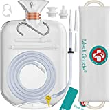 Medi Grade Professional Enema Bag Kit for Home Use - 14 Piece Home