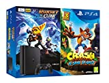 PlayStation 4 (PS4) - Consola de 1 TB + Crash Bandicoot N. Sane Trilogy + Ratchet & Clank