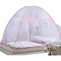 Deylaying Doppelt Durch Reißverschluss Pop Up Moskitonetz Falten Zelt Für Baby Erwachsene Anti-Moskito