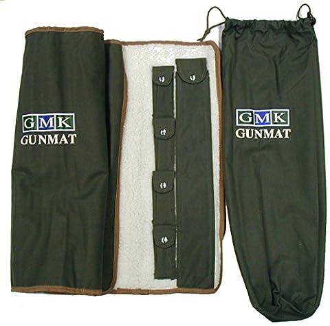 GMK Gun Cleaning Maintenance Mat Green Brown (Gun Cleaning Mat)