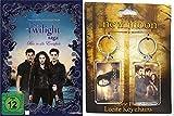 TWILIGHT SAGA - BISS IN ALLE EWIGKEIT Complete Collection incl. KEYCHAIN SET Limited DVD Box Sammler Edition mit Schlüsselanhänger