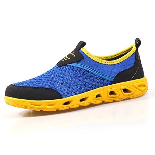 les hommes sont des chaussures de maille/Chaussures de sport respirant/Chaussures de course de maille F