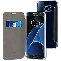 Muvit MUEAF0216 Etui folio pour Samsung Galaxy S7 Edge Noir