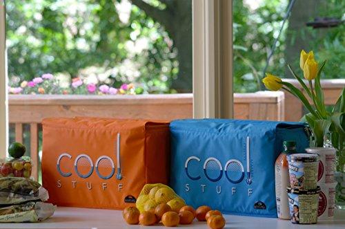 Kerribag-Cool-Stuff-Insulated-Reusable-Grocery-Shopping-Bag-Shopper-Tote-Bag-Cooler-bag-orange-Kitchen