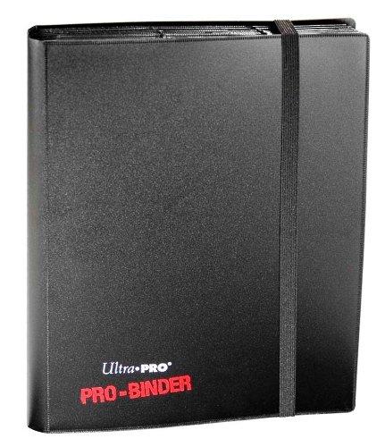 Ultra-Pro-82600-Pro-Binder-Sammelalbum-9-Taschen-pro-Seite-fr-360-Karten-schwarz