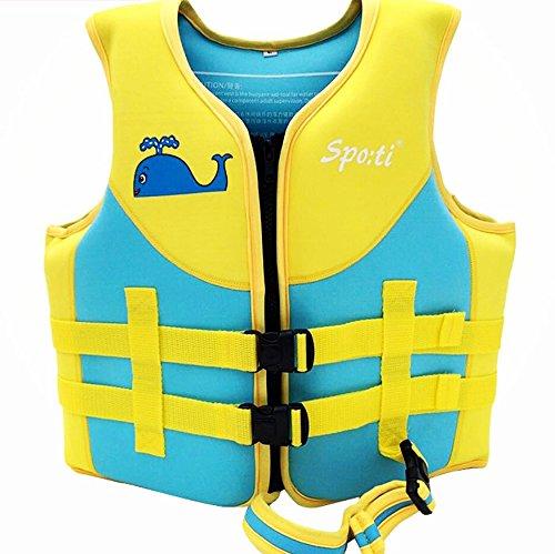 Titop Baby Outdoor Schwimmen Weste Schwimmen Schutz Für Kind Unter 20 lbs Infant Schwimmen Jacke Flossen Blau Klein