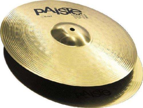 """PAISTE 101 Brass 13"""" Hi Hat Becken HiHat Cymbals"""