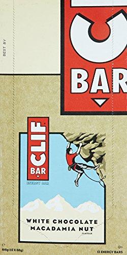 Clif Bar Barres Energétiques Chocolat Blanc/Noix...