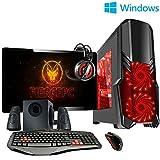 Fierce ULTRA SCHNELLE Zweikern Familie Gaming PC - Windows 10 - 3.9GHz AMD A-Series A4-6300 - Gaming, Büro, Familie PC - (WIFI, 16GB RAM, 1TB Festplatte, R7 Serie Grafik) - 222036