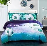 Descrizione: Il design di moda aggiunge alla tua camera da letto romantica di lusso. Informazioni dettagliate: Set di copripiumino: 1 copripiumino 240cm x 225cm(95x89 pollici), 1 fogli piatti 230cm x 250cm(90x98 pollici), 2 pattini cuscini 50cm x 70c...