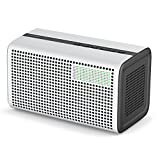 GGMM [Upgrade Version] E3 Multiroom Lautsprecher Mit Amazon Alexa Intergriert, Wi-Fi/Bluetooth Airplay, 10W Stereo Sound Mit Wifi Repeater, LED Uhr/Wecker, USB Ladeport Für Apple Und Android Gerät