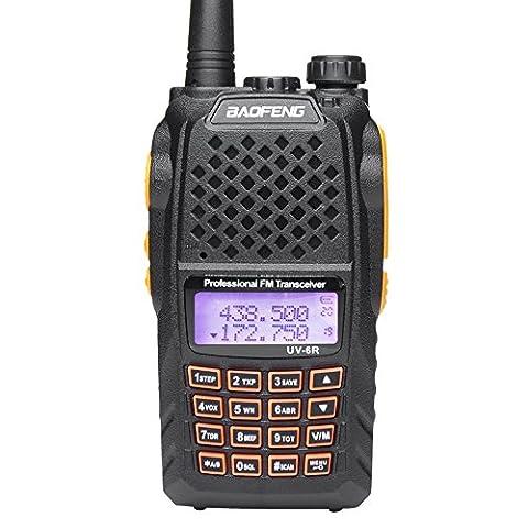 Mengshen® Baofeng UV-6R Funkgerät Walkie Talkie Two Way Radio UV-5R