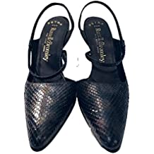 Russell & Bromley Leather Snakeskin Slingback Shoes EU 37 UK 4 RRP £145