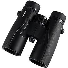 Óptica envergadura Skyview Ultra HD 8x 42prismáticos observación de aves con cristal ED. Resistente al agua, campo de visión amplio, enfoque de cerca. Mejor y más brillante de aves experiencias en Ultra HD 8x 42aumentos