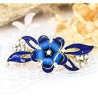 Jovono clip capelli sposa forcine per capelli accessori per capelli con  fiore accessori per donne e 7d0dcfdcd345