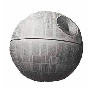 Star Wars Cojín Estrella de La Muerte, Acrílico, Gris, 45 x 45 x 8 cm 16